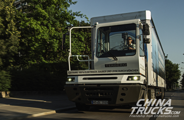 Terberg Electric Truck Uses Allison Transmission, Launch with GCW up to 65 Tons