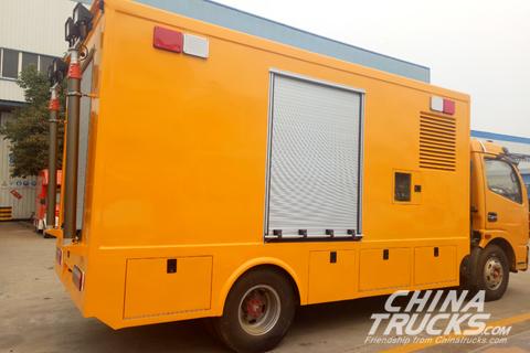 Dongfeng Duolika CLW5080XXHE5 Engineering Rescue Vehicles