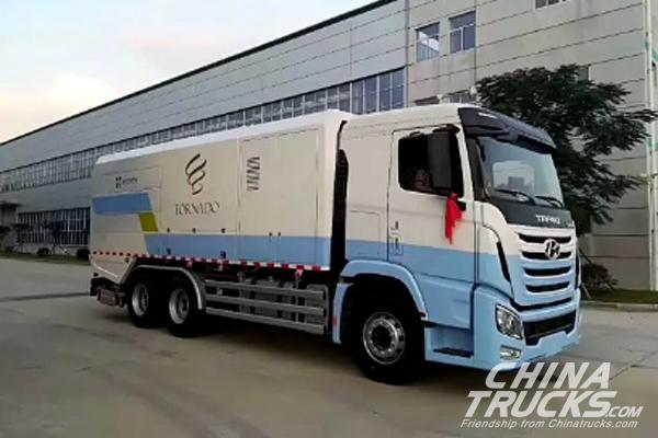 Sichuan Hyundai TRAGO Road Cleaning Vehicles Serve BRICS Summit in Xiamen
