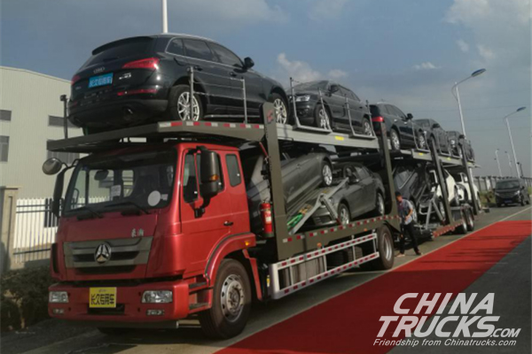 Changjiu Group Chuzhou Factory Secured an Order of 1,000 Units Center-Axle Vehicles