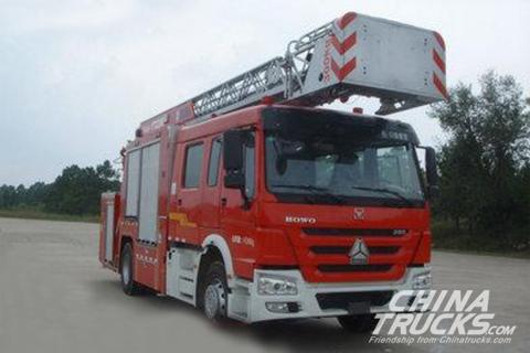 XCMG XZJ5190JXFYT22/K1 Ladder Fire Truck