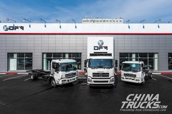 Dongfeng Trucks Makes a Successful Entry into the Russian market