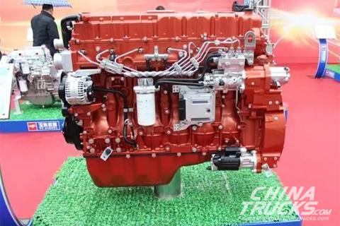 Yuchai YC6K13N Natural Gas Engine
