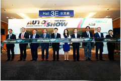 CNHTC with Its Strong Product Attended 1st Hong Kong International Auto Expo