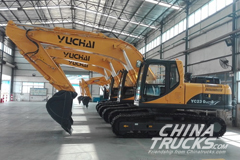Yuchai Heavy Industry Delivers First Export Excavators to Timor