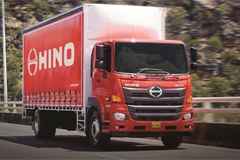 Hino New Trucks Debut at South America Joburg Futuroad Expo