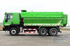 Hongyan Delivered the First Batch of Muck Trucks to Fuzhou Customer