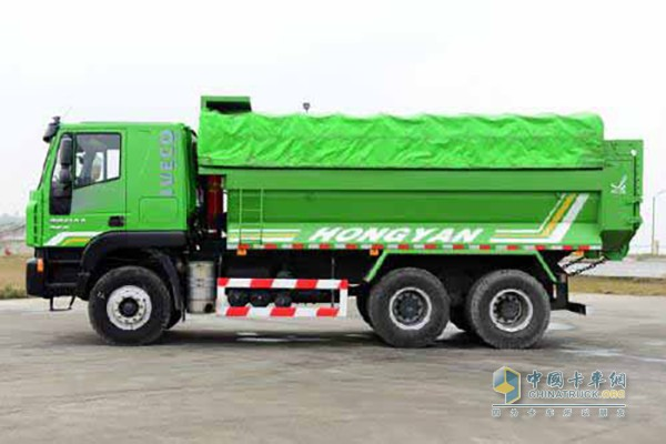 Hongyan Delivered the First Batch of Muck Trucks to Fuzhou Customer