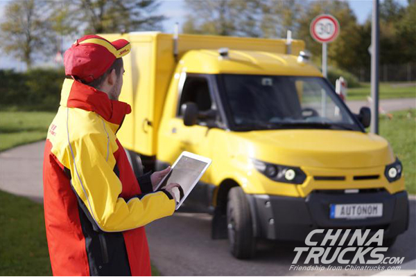 Deutsche Post DHL Partners with ZF to Deploy Self-driving Delivery Trucks by 201