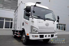 YUNDA Put Jiefang J6F Light Trucks for Delivery Service