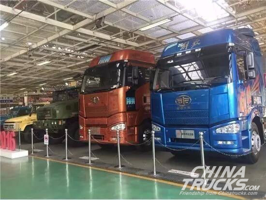 FAW Jiefang Hit New Record with 236,300 Trucks Sold