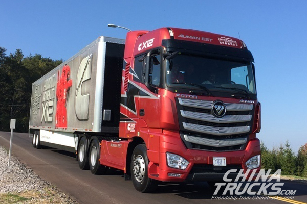 Super Truck Loads U.S., China Energy Efficiency Cooperation