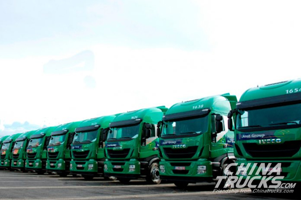 Iveco to Supply 500 New Stralis NP Trucks to Jost Group