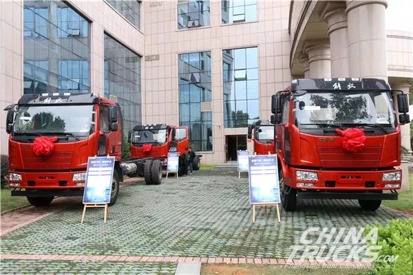 Sales of Jiefang Trucks in Russia Grew by 304% in the First Three Quarters