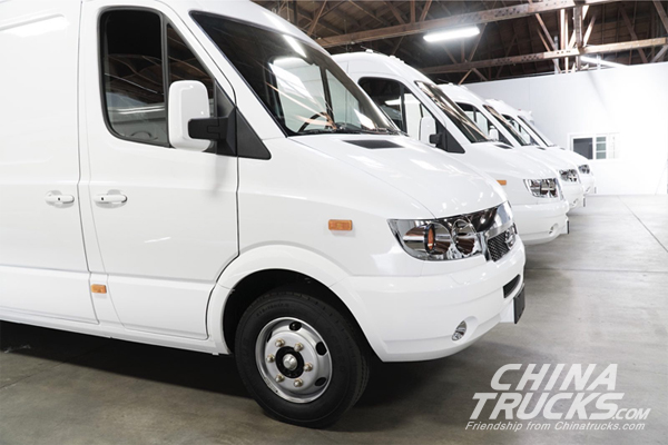 Wulong Electric Logistic Vehicles Arrived in the U.S. Market