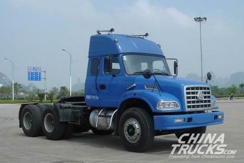 Liuzhou Motor 6×4 340PS Dragon tractor+FAST Transmission
