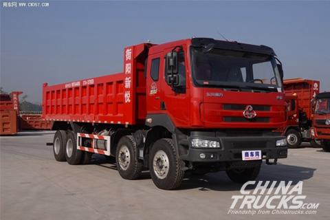 Liuzhou Motor Balong 290hp 8×4 Dumper+Weichai Power+FAST Gearbox