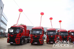 JMC Weilong Heavy-duty Trucks Delivered to Their First Customers for Operation