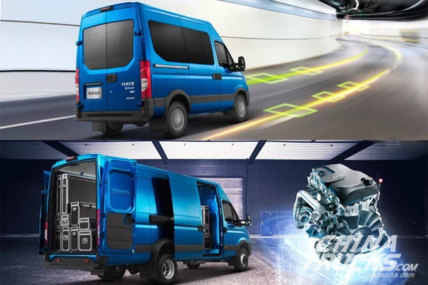 Iveco Daily Set to Make its Debut at CCVS 2017