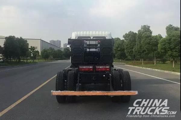 CAMC Electric Heavy-duty Truck Boasts a Maximum Loading Capacity of 13 Tons