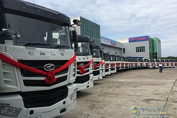 100 Units CAMC Hanma H6 Delivered to Malaysia for Operation