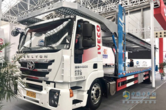 100 Units Hongyan Trucks Delivered to Kunshan for Operation