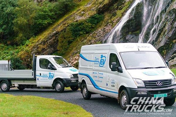 SAIC Maxus Electric Van EV80 to Arrive in Germany