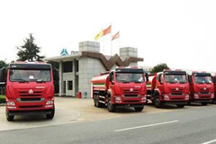 50 Units Sinotruk Fire-fighting Trucks Shipped to Ethiopia for Operation