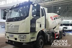 FAW Jiefang J6L 8×4 Cement Mixer