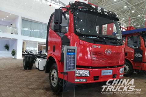 FAW Jiefang J6L 4×2 Tractor+Dachi Engine