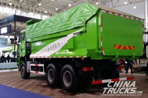 FAW Jiefang J6P 6×4 Dumper+FAWDE Power+FAW Jiefang Transmission