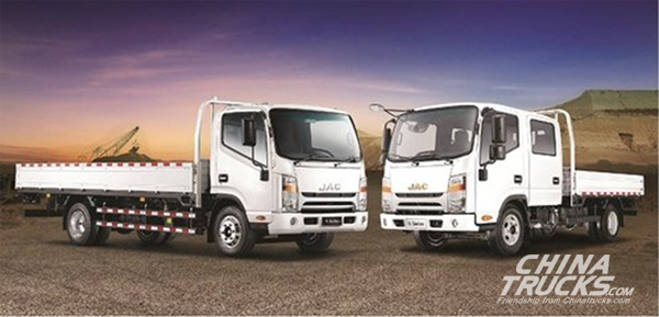 JAC Motors Titan DC trucks Deliver Powerful Performance in Oman