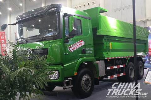 SHACMAN X3000 6*4 Muck Truck+Cummins Power+FAST Transmission