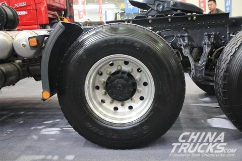 SHACMAN Delong X3000 6*4 Single-tire Tractor+Cummins Engine