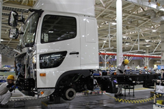 Hino Motors' New Koga Plant in Japan off to a Good Start