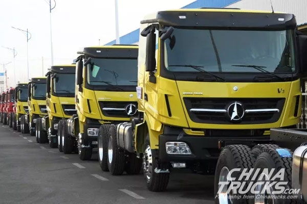 73 Units North Benz Heavy-duty Trucks to be Delivered to Chile