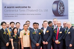 Conti's Tire Plant Construction in Thai on Schedule