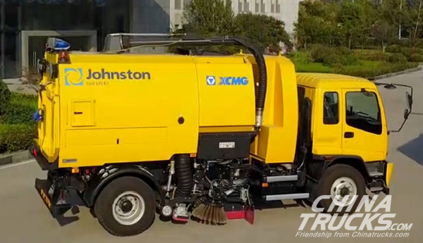 XCMG's Most Powerful Road Sweeper off Assembly Line