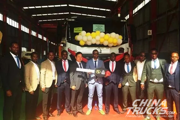CNHTC Sinotruk Opens its Second KD Assembly Line in Ethiopia
