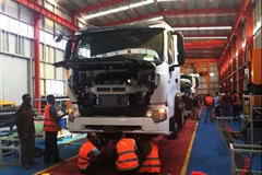 CNHTC Opens its Second KD Assembly Line in Ethiopia