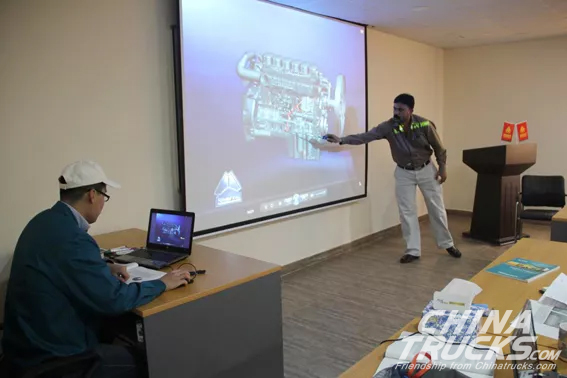 Sinotruck Pakistan Training Center Begins Trial Operation  in Lahore