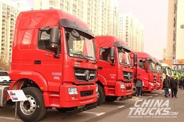 Beiben Achieves 10,194 Units Truck Sales in the first 11 Months 2017