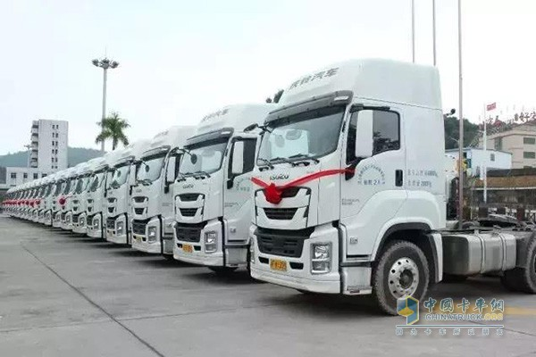 30 Qingling GIGA Tractors with FAST Transmission Made Their First Delivery