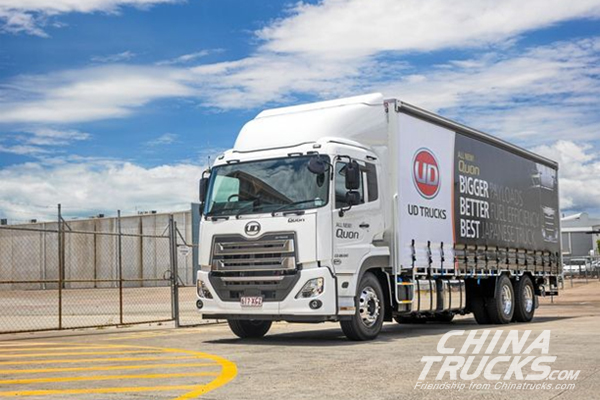 Launch of the New Quon is a Big Deal for UD Trucks in Australia