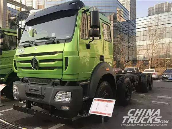 Beiben to Put its Wide Vehicle Spectrum on Display at 2017 Business Meeting