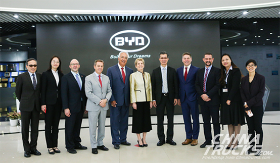 BYD May Set up Shop in Ontario, Canada