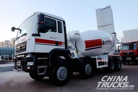 Sinotruk SITRAK C6G 8X4 Concrete Mixer