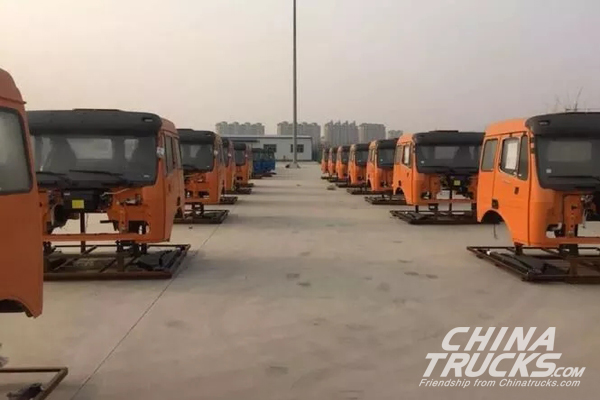 120 Units Beiben KD Dumpers Shipped off to Ethiopia