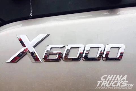 SHACMAN X6000 6X4 Tractor+Weichai Engine+FAST Transmission