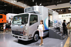 Isuzu to Launch Small EV Truck at End of 2018